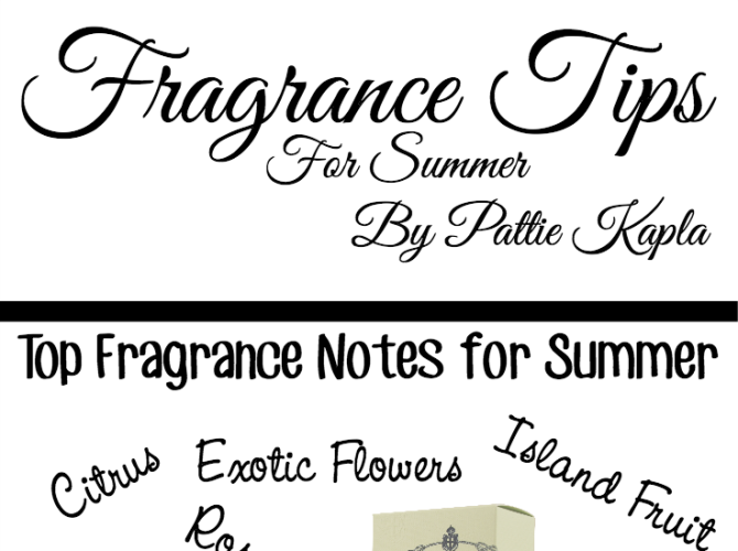 Fragrance 101: Fragrance Tips for Summer