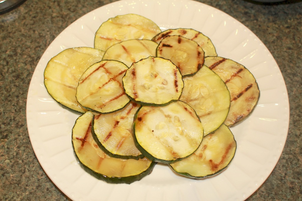 Grilled Zucchini on Plate Zucchini Tacos.jpg