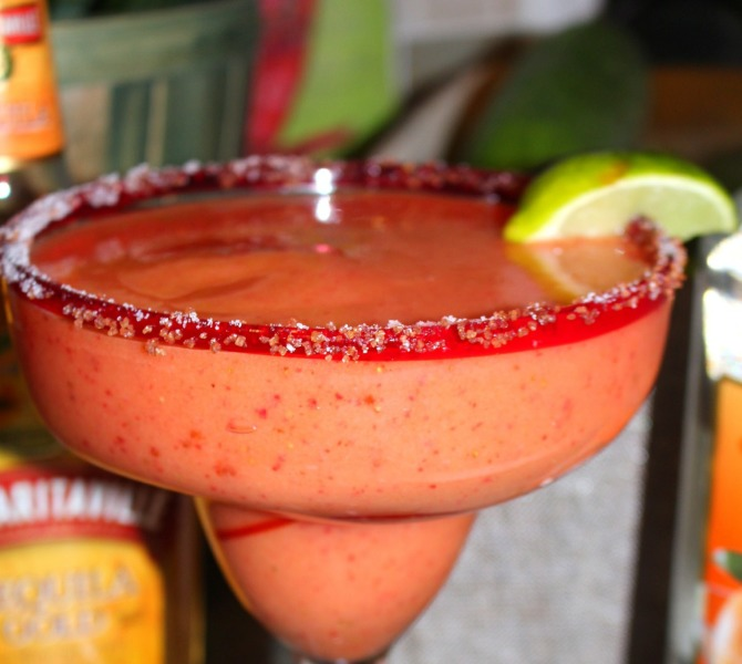 Summer Drink Series: Frozen Mango Strawberry Margarita