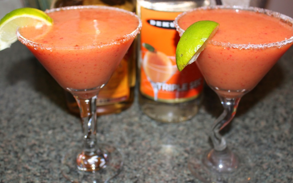 Mango Strawberry Margarita