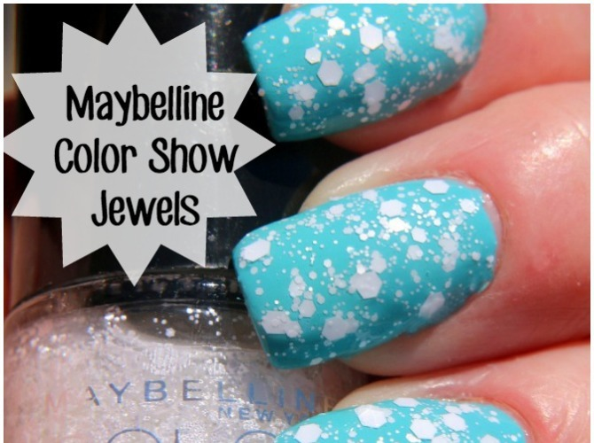 Maybelline Color Show Veils and Jewels Nail Polish Swatches