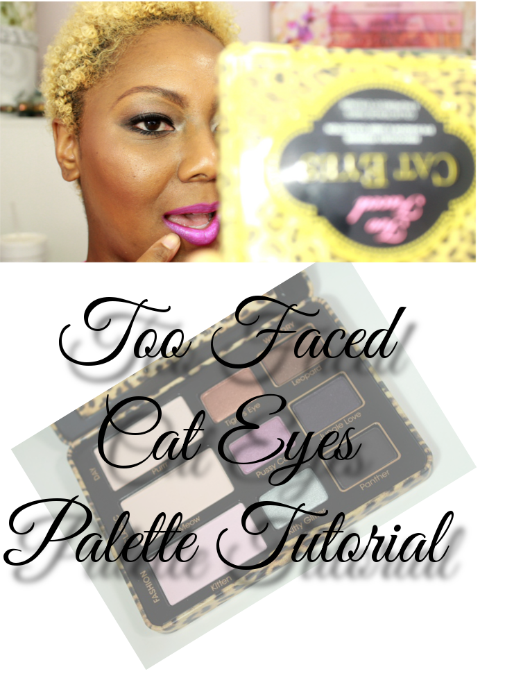 Too Faced Cat Eyes Palette Tutorial Header