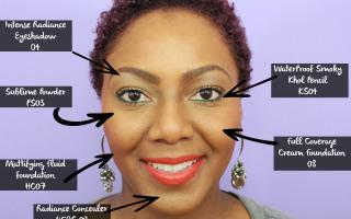 Black UP Cosmetics Layout