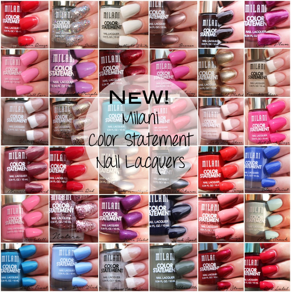 Milani Color Statement Nail Lacquers Pinterst