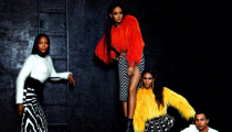 Naomi, Iman and Rihanna for Olivier Rousteing's Balmains Fall Winter 2014-2015 Collection