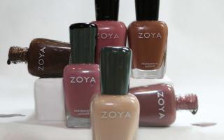 Zoya Naturel Bottles Deux