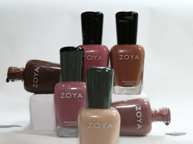 Zoya Naturel Deux Swatches and Review