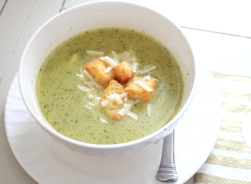 Zucchin Soup Bowl 2