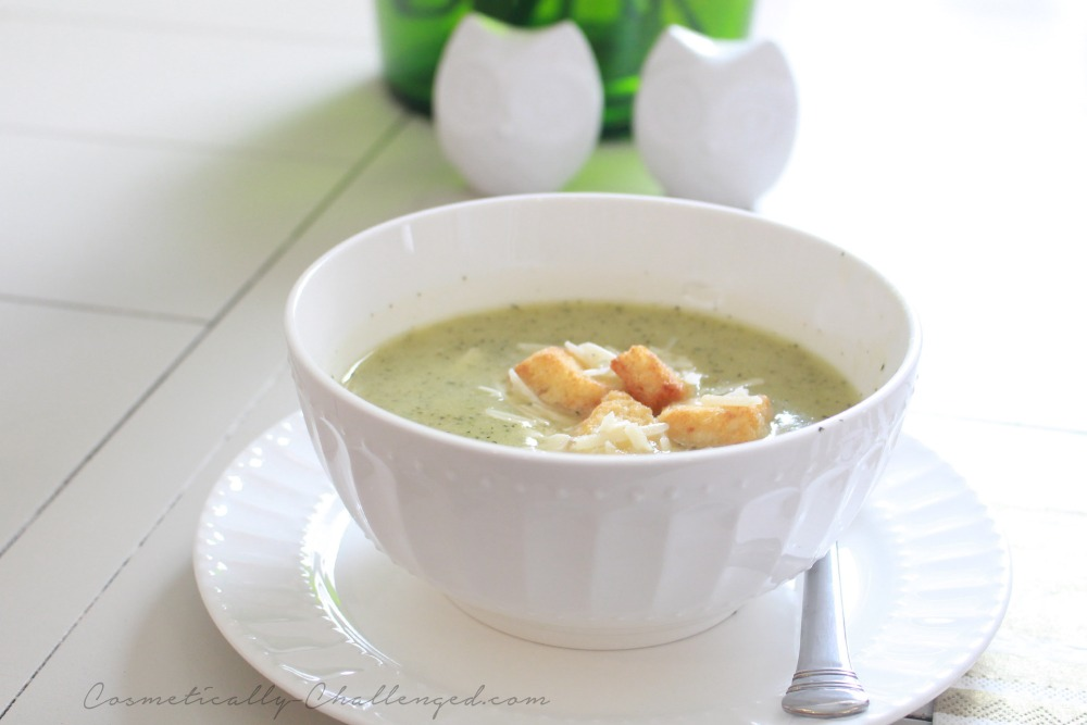Fresh from the Garden: Zucchini Soup