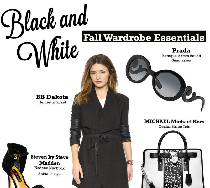 Black and White Fall Wardrobe Essentials