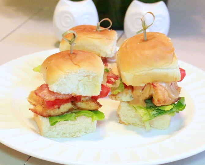 The Husband Cooks: Chipotle Bacon Salmon Sliders