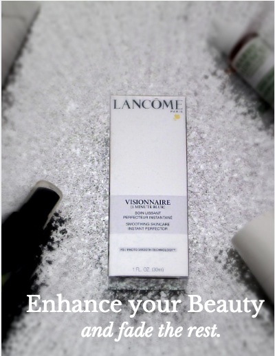 The Magical Eraser: Lancôme Visionnaire 1 Minute Blur